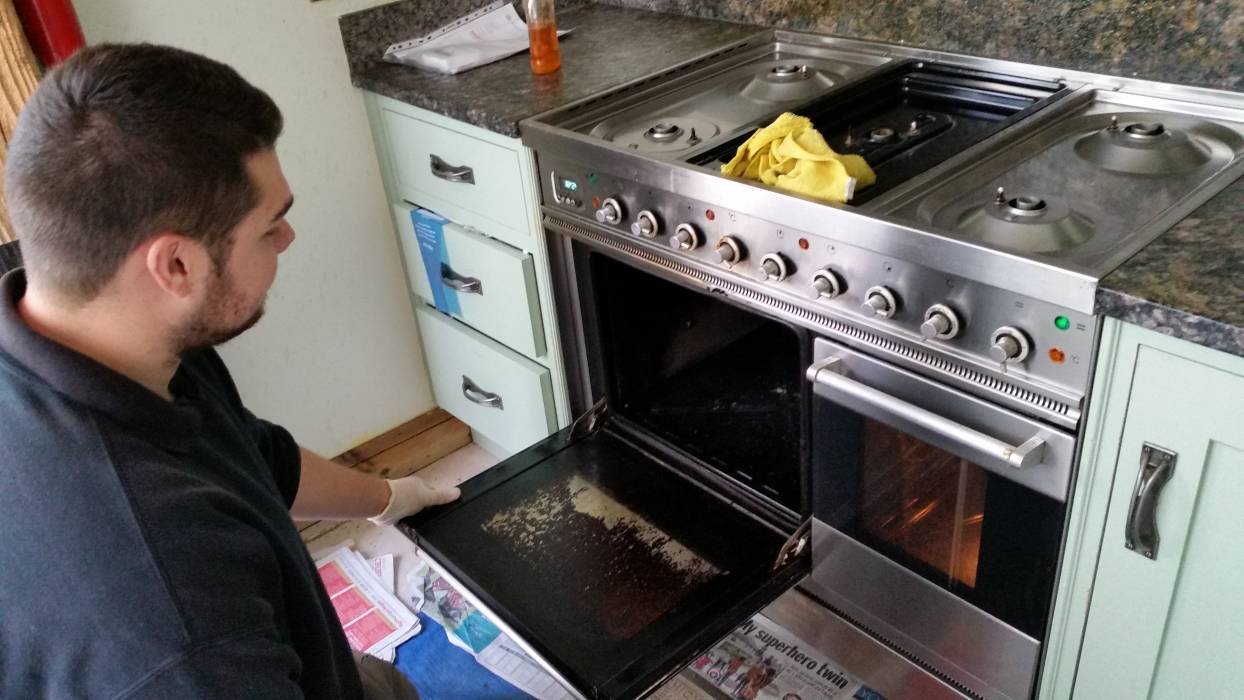 oven cleaning franchise